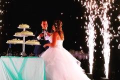 matrimonio con fontane fredde